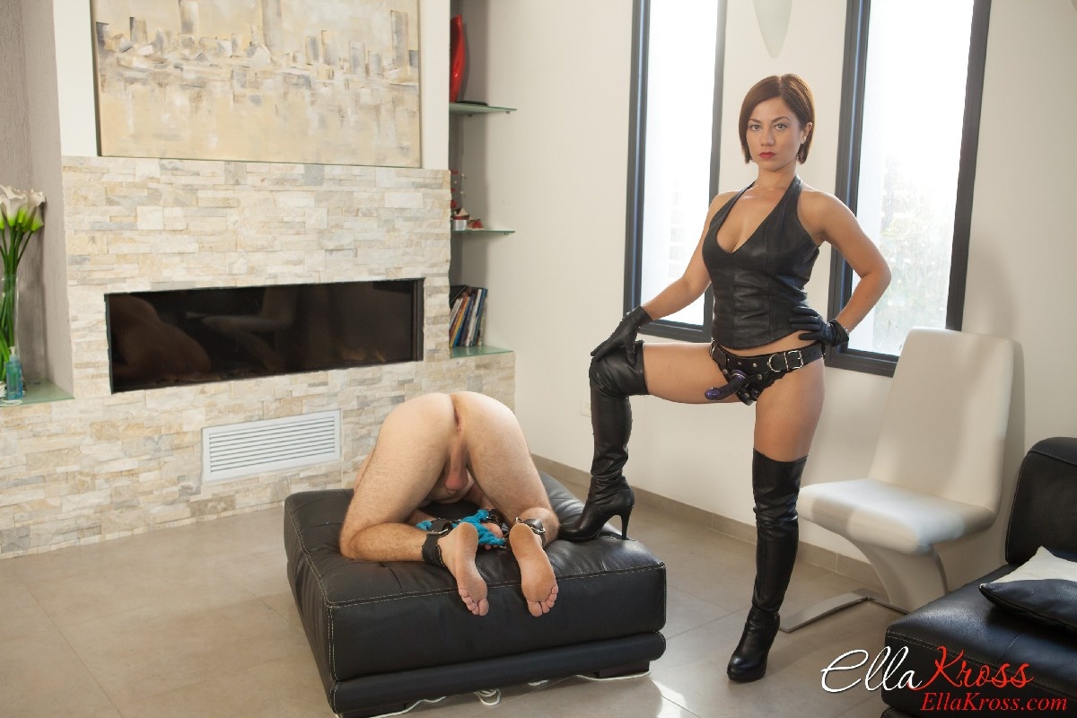 Hot pegging with misstress irene - 2 7