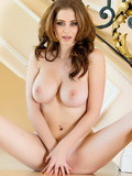 Emily Addison is a stunning model who is proud of her big knockers and pink slit
