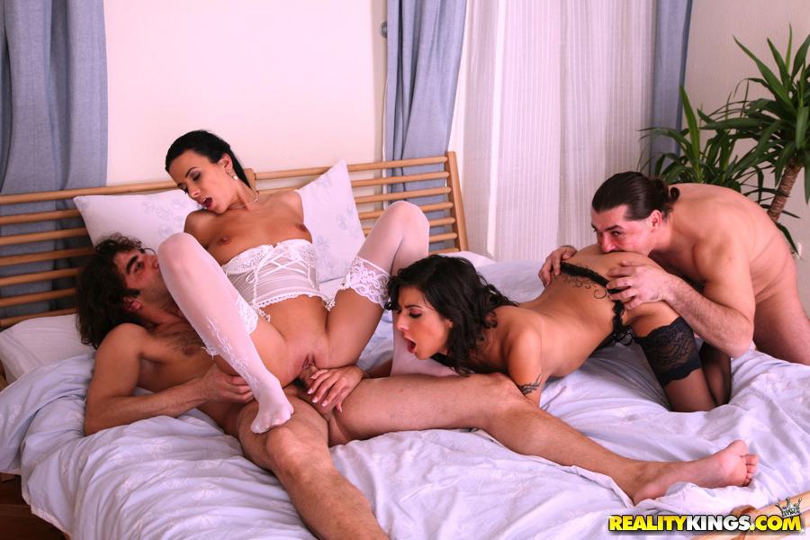 Gorgeous lingerie sex