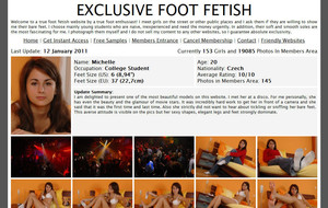 Visit Exclusive Foot Fetish