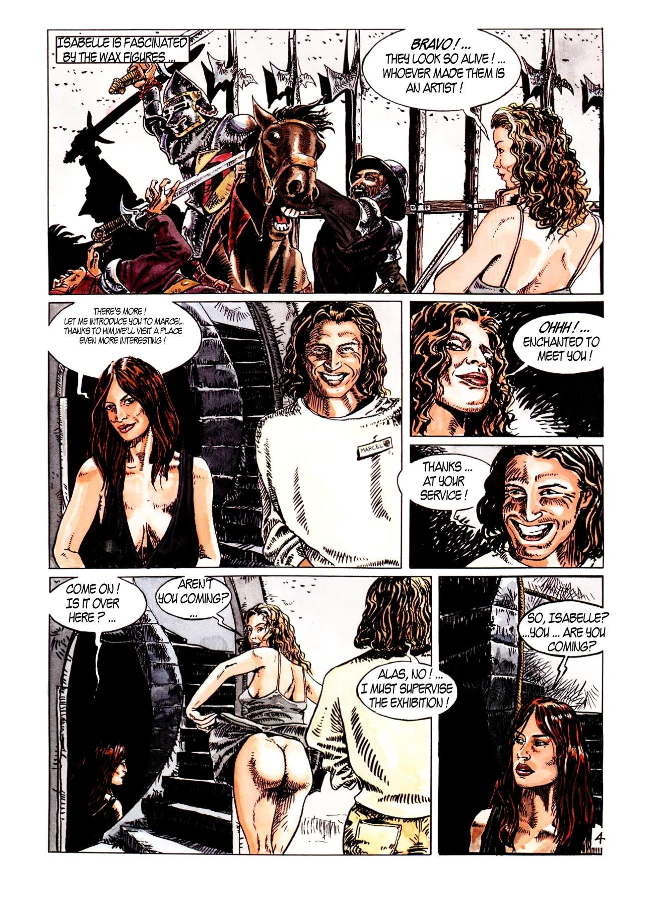 Porn comics story