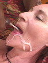 Sperm hungry momma fucks all handy