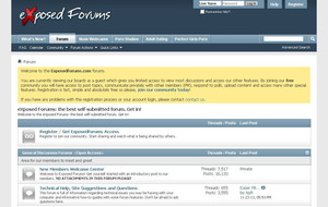 Visit Exposed Forums