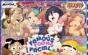 Visit Famous Toons Facial