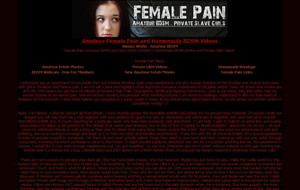Visit Female Pain