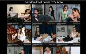 Visit Femdom Foot Fetish