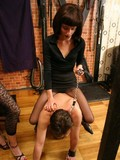 Real mistress doing unreal crude