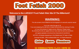 Visit Foot Fetish 2000