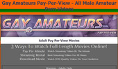Visit Gay Amateurs Pay Per View