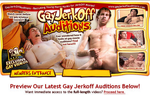 Visit Gay Jerkoff Auditions