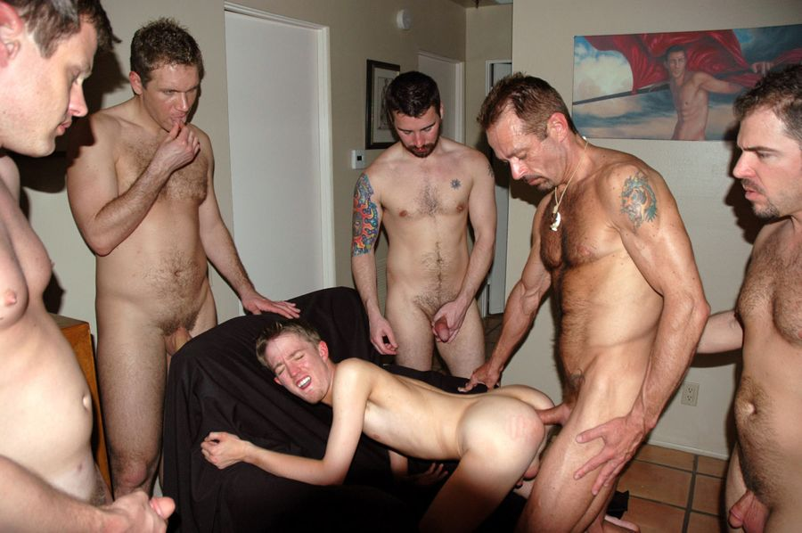 2003 interracial orgy party - 4 3
