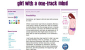 Visit Girl With A One Track Mind
