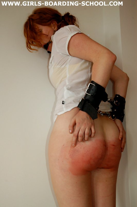 handcuffed and spanked Girls