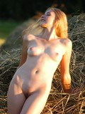 Juliana demonstrates her beautiful completely nude body in the outdoors