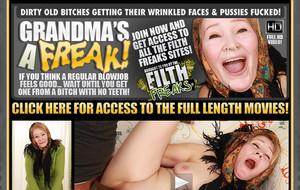 Visit Grandma`s A Freak