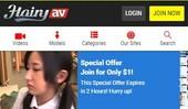 Visit Hairy AV Mobile
