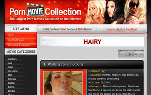 Visit Hairy Movie Collection