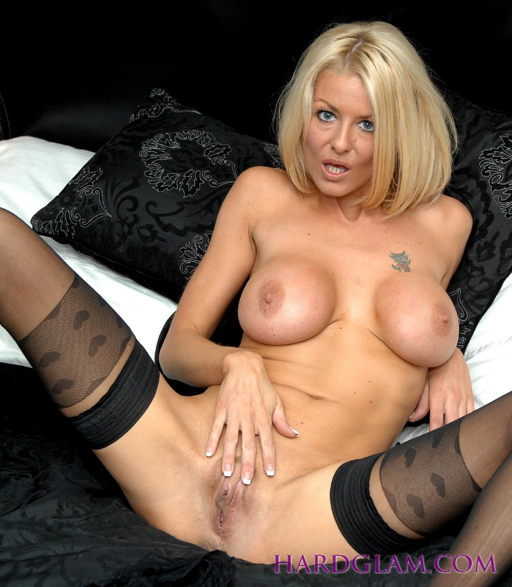 Mature blonde tia took through