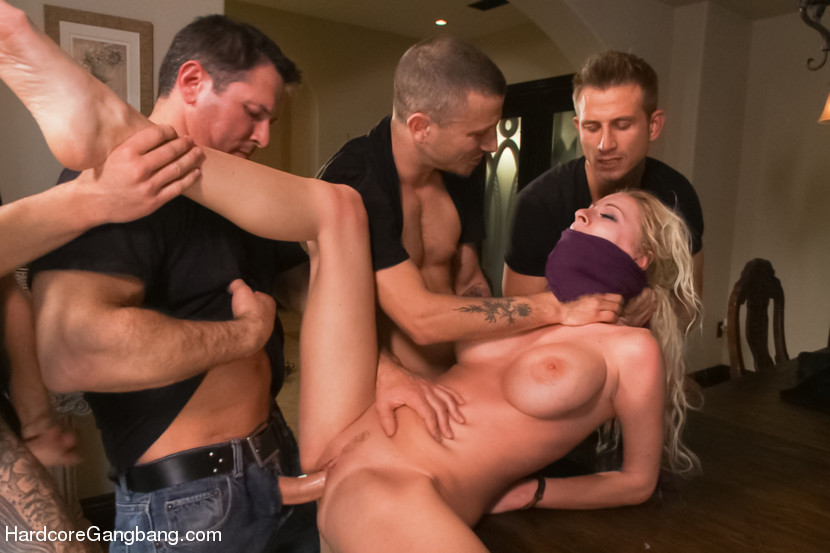 Steamy Gang Bang Action