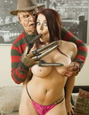 Insane XXX parody features Freddy Krueger fucking big breasted redhead in her juicy pussy