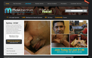 Visit His First Facial