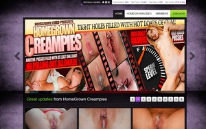 Visit Homegrown Creampies