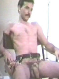 Horny fetish gay in clothes made of leather fucks the shit out of classic ass