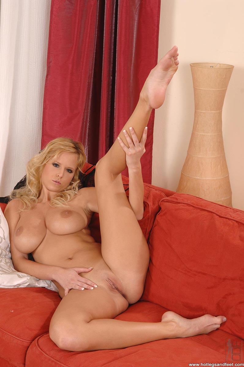 Long sexy legs feet nude