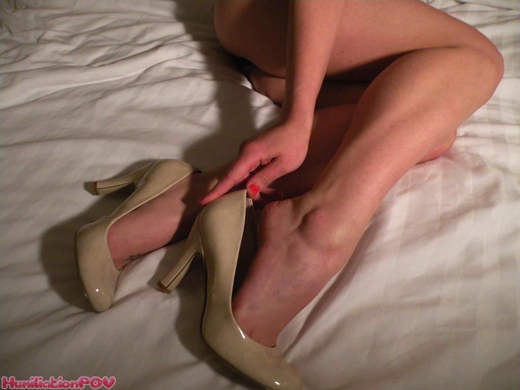 pov sex bdsm high heels