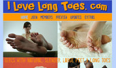 Visit I Love Long Toes