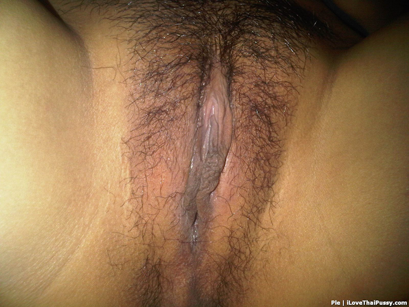 Here Hairy pussy close up this rather