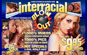 Visit Interracial Blowout