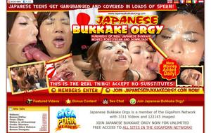 Visit Japanese Bukkake Orgy