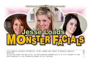 Visit Jesse Loads Monster Facials