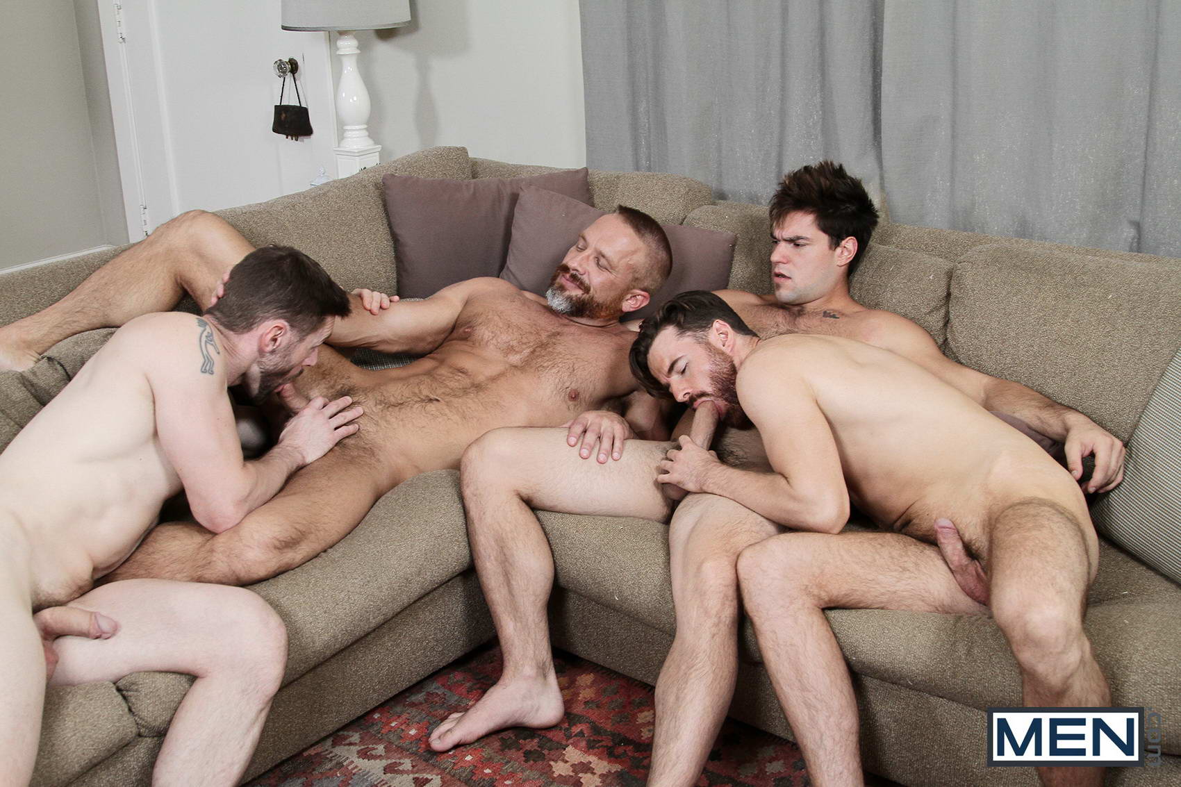 gay mature foursome