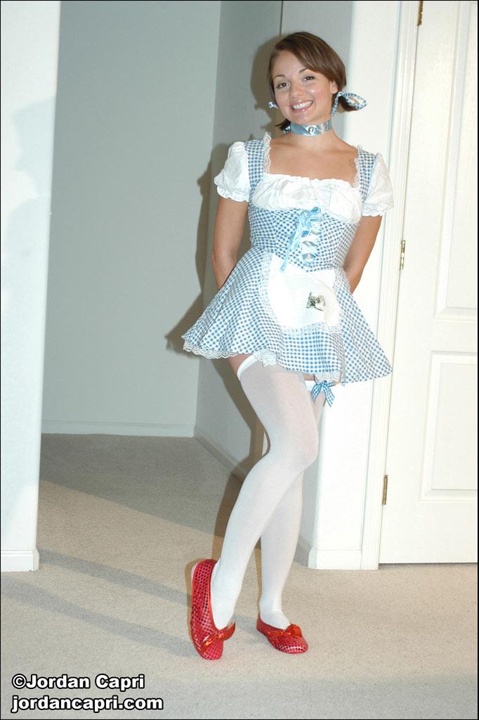 Jordan capri schoolgirl