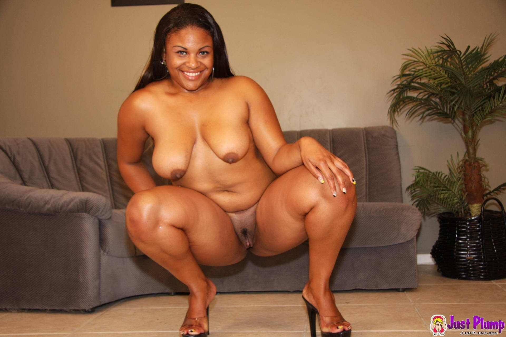 Black ass squatting naked