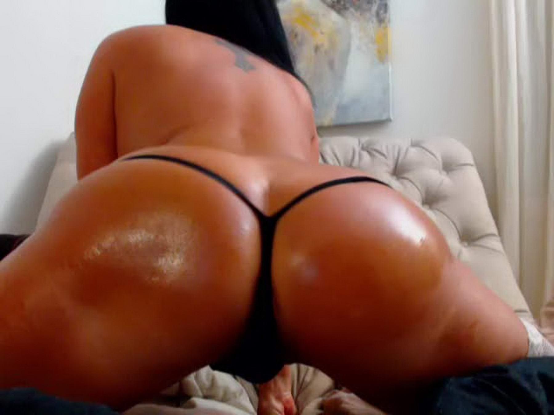 Zwart Butt pussy