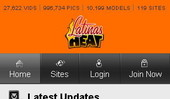 Visit Latinas Heat Mobile