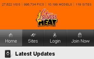 Visit Latinas Heat Mobile