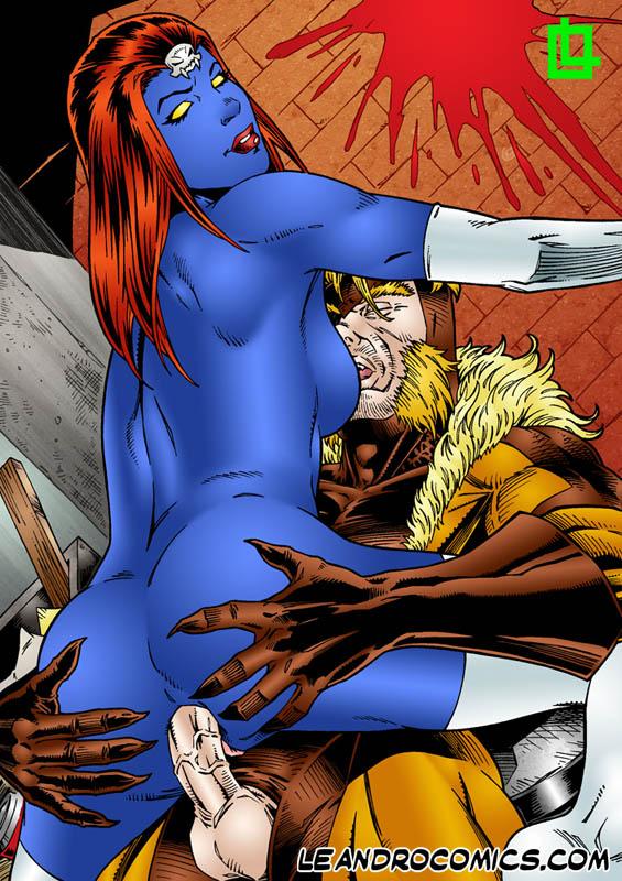 Mystique leandro porn comics