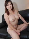 Hairy Japanese lady Chisako Nimura gets screwed after she takes off her underwear
