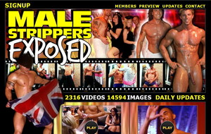 Visit Male Strippers Exposed