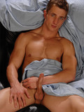 Nude sexy bodied muscle guy Marcus Mojo dildo fucks his ass after exposing his c