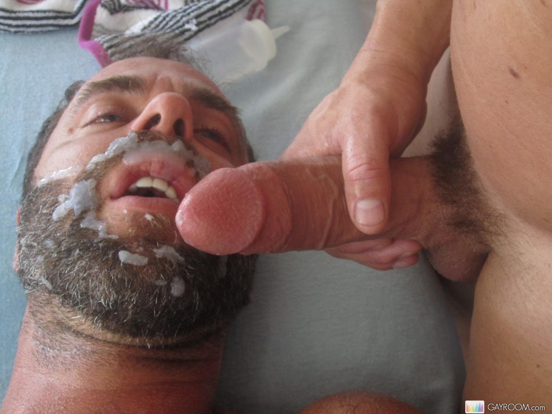 ass fucked guy gets facials