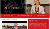 Visit Mature April Thomas