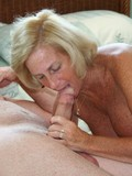 Mature female lying naked and waiting for something really hot and turning on
