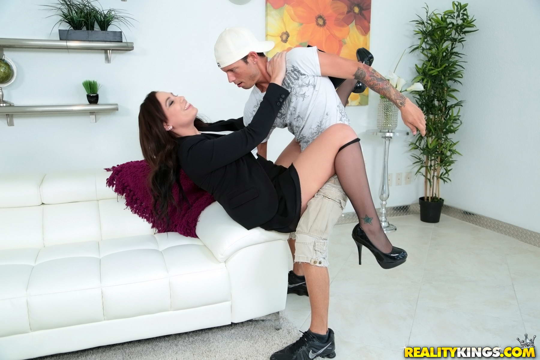 Major dick drilling veronica rodriguez in her pussy
