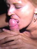 Older cum slut got facialized