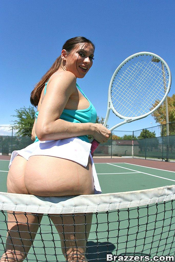 Tennis porn rocks